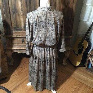Dresses - Vintage Print Dress